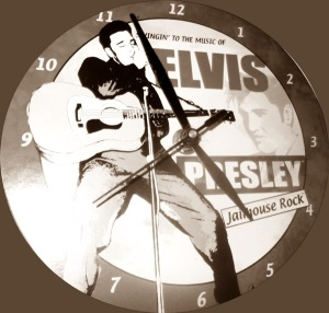 If Elvis has left the building so shall you