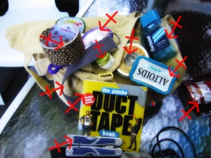 Duct Tape Use number 212=can't afford to the vet?  Duct Tape is the best chastity belt around!
