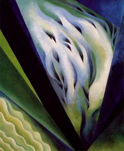 blue-and-green-music-painting