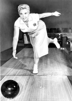 Legendary bowler LaVerne Carter, in a handout photo. May 18, 1956.
