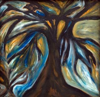 blackbird in a tree mary barnes